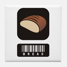 Bread Lovers Tile Coaster