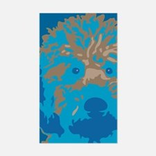 Labradoodle 2- Rectangle Decal