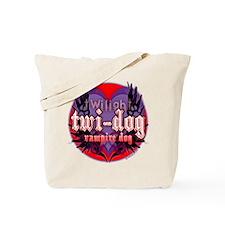 Twilight Twi-Dog Vampire Dog Tote Bag