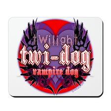 Twilight Twi-Dog Vampire Dog Mousepad