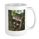 Baby Raccoon Large Mug