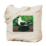 Saxon Swallow Pigeon Tote Bag