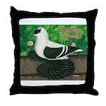 Saxon Swallow Pigeon Throw Pillow