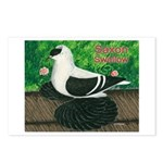 Saxon Swallow Pigeon Postcards (Package of 8)