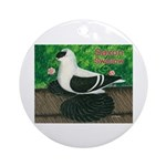 Saxon Swallow Pigeon Ornament (Round)