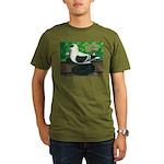 Saxon Swallow Pigeon Organic Men's T-Shirt (dark)