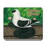 Saxon Swallow Pigeon Mousepad