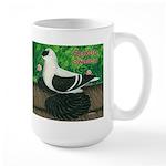 Saxon Swallow Pigeon Large Mug