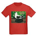 Saxon Swallow Pigeon Kids Dark T-Shirt