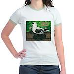 Saxon Swallow Pigeon Jr. Ringer T-Shirt