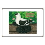 Saxon Swallow Pigeon Banner