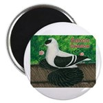 "Saxon Swallow Pigeon 2.25"" Magnet (100 pack)"