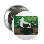 """Saxon Swallow Pigeon 2.25"""" Button"""