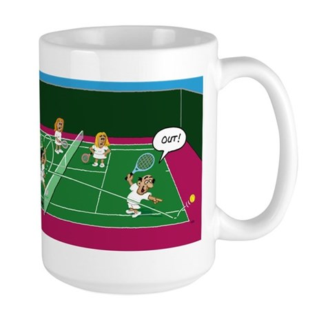 Out! Large Mug