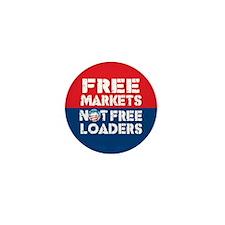 Free Markets Mini Button