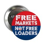 "Free Markets 2.25"" Button (100 pack)"