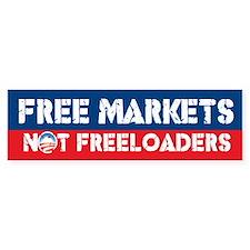 Free Markets Bumper Bumper Sticker