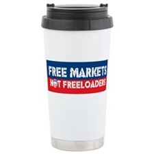 Free Markets Travel Mug