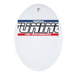 Tuning X Oval Ornament