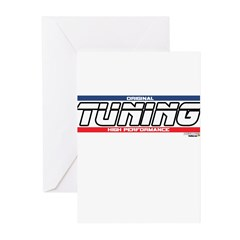 Tuning X Greeting Cards (Pk of 10)