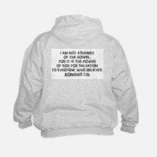 Romans 1:16 Sweatshirt