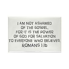 Romans 1:16 Rectangle Magnet (100 pack)