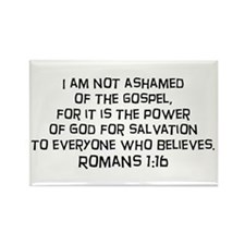 Romans 1:16 Rectangle Magnet (10 pack)