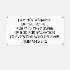 Romans 1:16 Banner