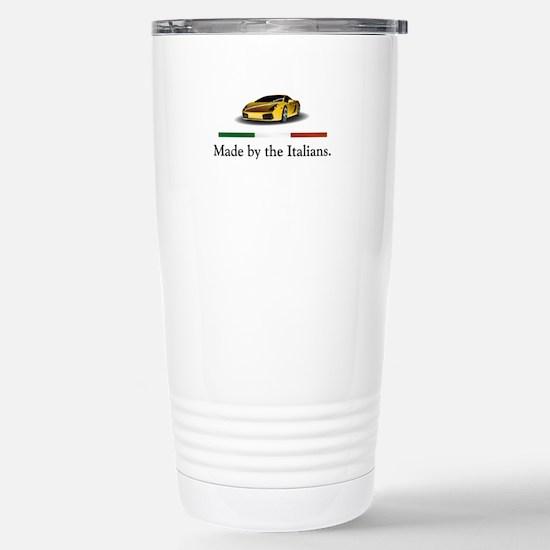 Lamborghini Italian Stainless Steel Travel Mug