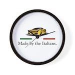 Lamborghini Italian Wall Clock