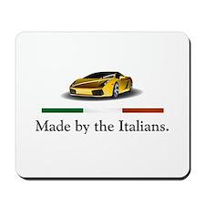 Lamborghini Italian Mousepad