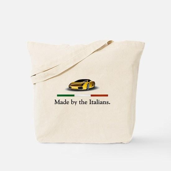 Lamborghini Italian Tote Bag