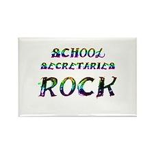 Unique School secretary day Rectangle Magnet