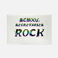 Cute School secretary day Rectangle Magnet