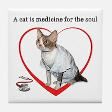 Medicine for the Soul Tile Coaster
