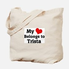My Heart: Trista Tote Bag