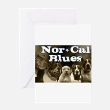 Nor Cal Blues Greeting Card