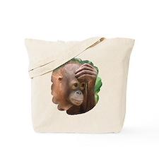 Unique Orangutan conservancy Tote Bag