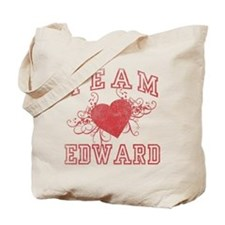 Team Edward Cullen Tote Bag