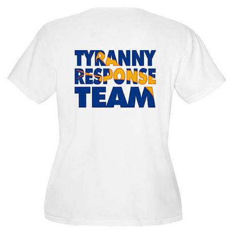 Tyranny Response Team Women's Plus Size Scoop Neck