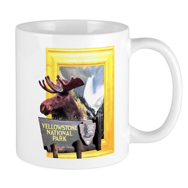 Yellowstone National Park Moose Mug By Picturesquemoos