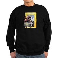 Yellowstone national park moose Sweatshirt