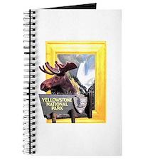 Yellowstone national park moose Journal
