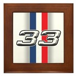 Cars 1933 Framed Tile