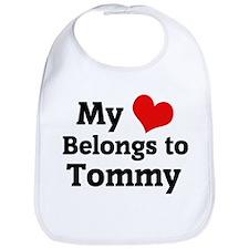 My Heart: Tommy Bib