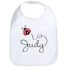 Ladybug Judy Bib