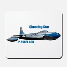 F-80B Shooting Star Mousepad
