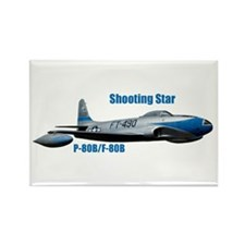 F-80B Shooting Star Rectangle Magnet