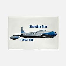 F-80B Shooting Star Rectangle Magnet
