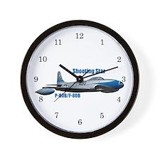 F-80B Shooting Star Wall Clock
